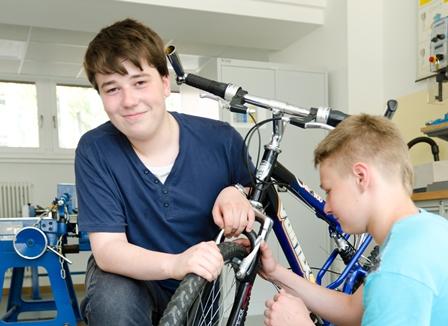 Fahrradwerkstatt Praxiskurs
