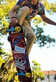skateboard Übung ausschnitt